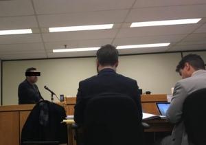 Arsham Parsi in court