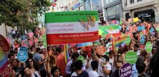 گزارش تصویری از حضور شش رنگیها در جشن افتخار استانبول