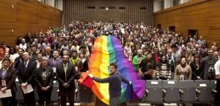 حضور شش رنگ در کنفرانس جهانی أقلیت های جنسی