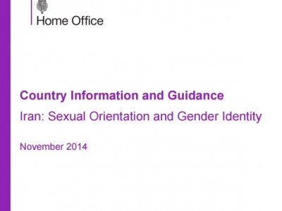 """تحقیق """"شش رنگ""""، منبع راهنمای پذیرش پناهجویان ال جی بی تی در بریتانیا"""