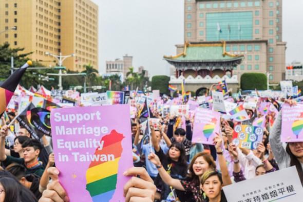 تایوان برابری ازدواج