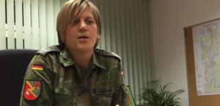 اولین فرمانده ترنسجندر ارتش آلمان