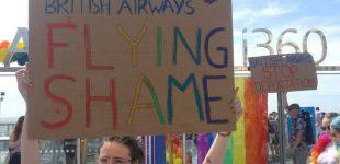 اشغال برج هواپیمایی بریتیش ایرویز؛ نامه اعتراضی بیش از ۶۰ تن از کنشگران و حامیان الجیبیتی به این شرکت