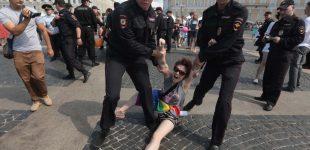 روسیه اعتراضهای یک نفره را تحمل نکرد؛ بازداشت ۳۰ فعال الجیبیتی