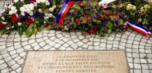 حمله خرابکارانه به یادمان آخرین قربانیان اعدام همجنسگرایان در فرانسه