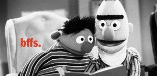 «برت» و «ارنی» زوج همجنسگرا نیستند؛ دو دوست صمیمیاند