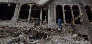 تخریب ساختمان مورد استفاده داعش برای کشتن مردان همجنسخواه