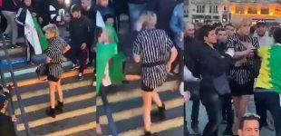 حمله به یک زن ترنسجندر در پاریس