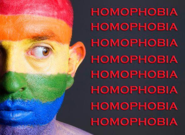 طرح همجنسگرا هراسی از شاتراستاک