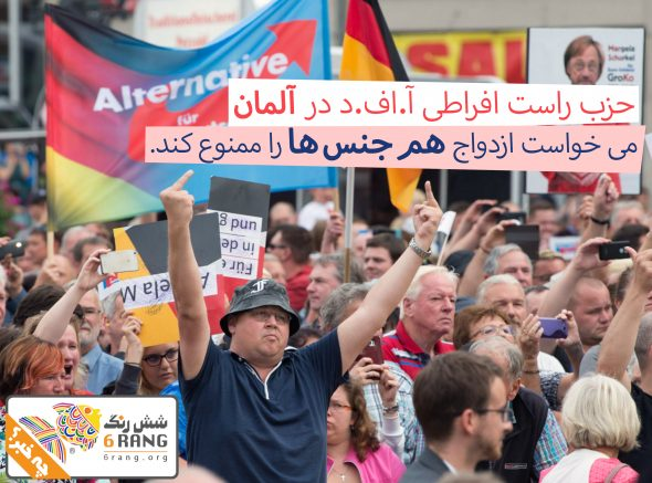 الترناتیوی برای آلمان میخواست ازدواج همجنسها را غیرقانونی کند!