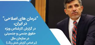 """""""درمان های اصلاحی"""" در ایران، در گزارش کارشناس ویژه حقوق جنسی و جنسیتی در سازمان ملل (بر اساس گزارش شش رنگ)"""