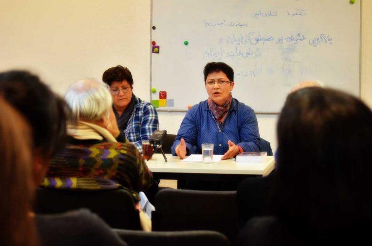شادی امین در نشست بازگویی خشونت به همجنسگرایان و ترنسها
