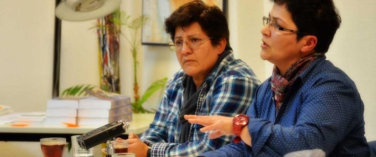 شادی امین یکی از مدیران «سازمان عدالت برای ایران»