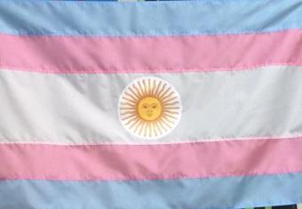 پرچم ترنس - آرژانتین