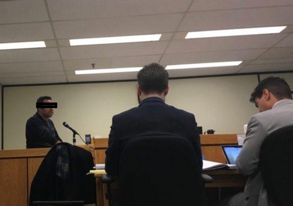 ارشام پارسی در دادگاه