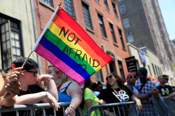 عکسی از رژهی افتخار در نیویورک