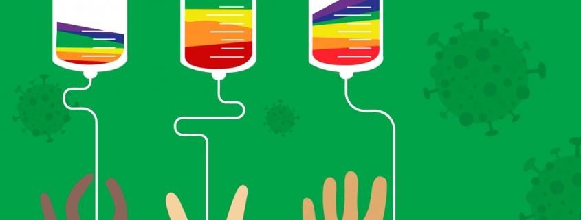 شیوع کرونا و درخواست ۵۰۰ پزشک و محقق برای رفع محدودیتهای اهدای خون مردان همجنسگرا در ایالات متحده